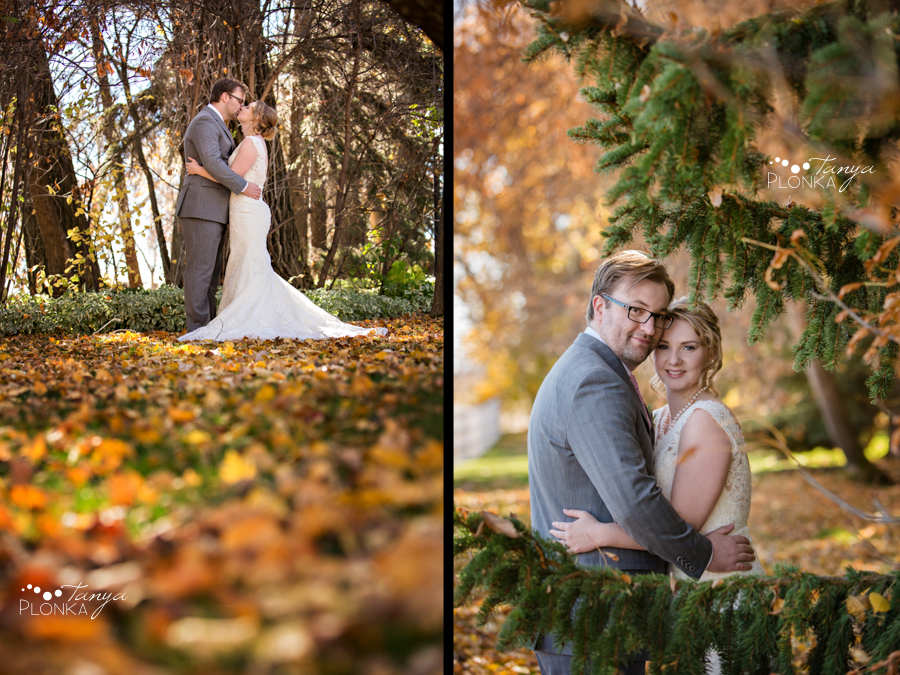 Ashlan & Bryce, Lethbridge Norland autumn wedding photography