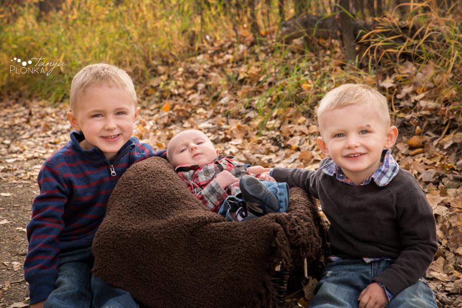 autumn Lethbridge river bottom family photos
