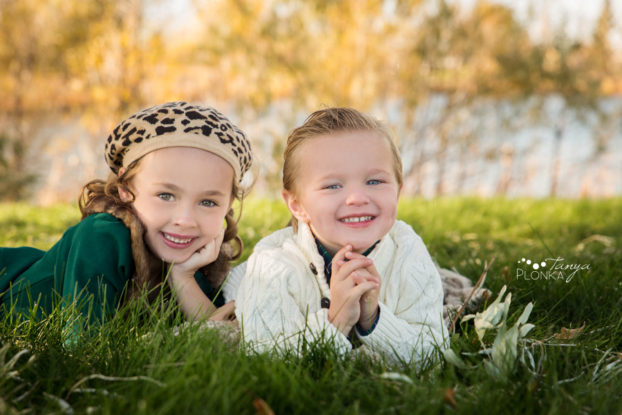 Nicholas Sheran autumn children's photos