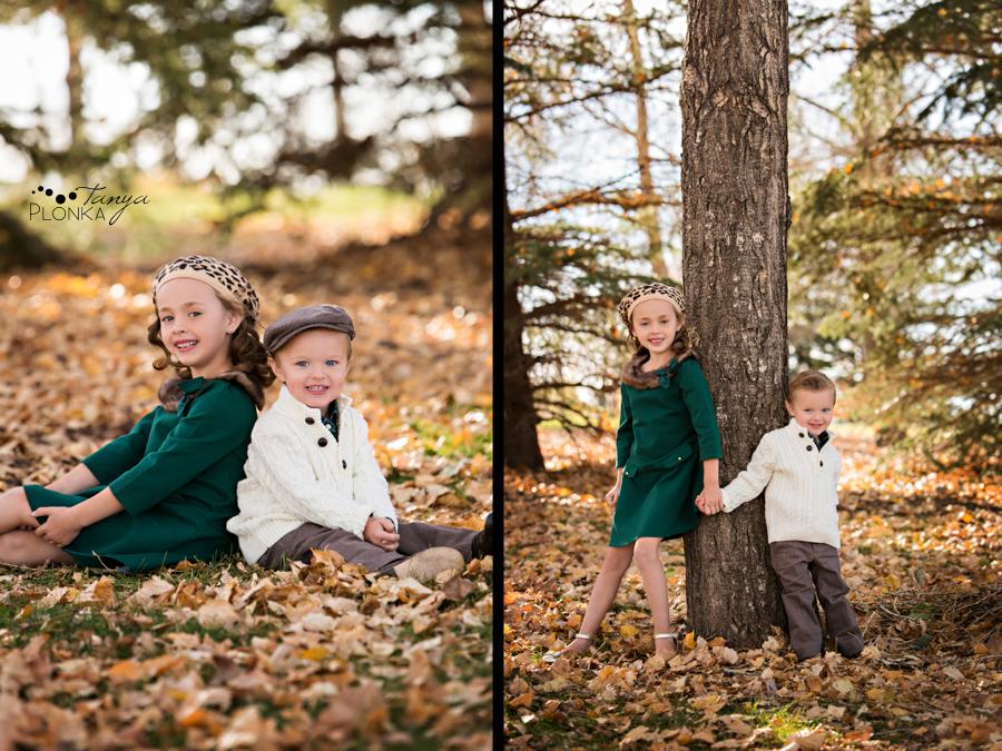 Lethbridge autumn children's photos