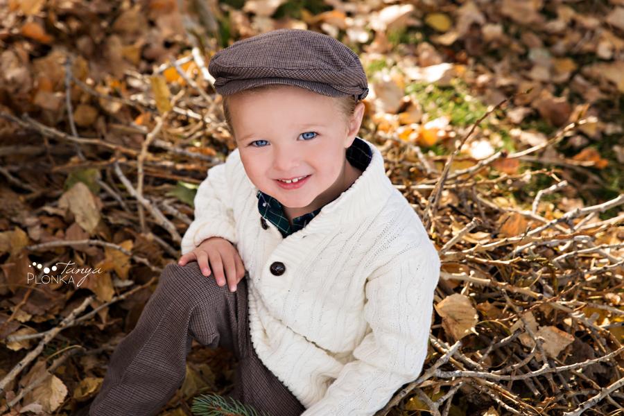 Nicholas Sheran autumn children's photography