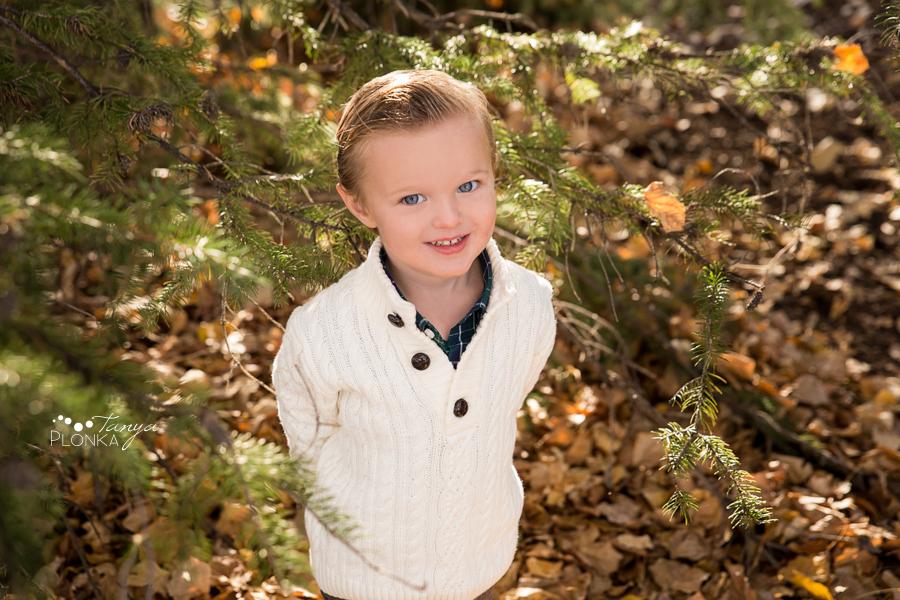 Nicholas Sheran autumn children's photos