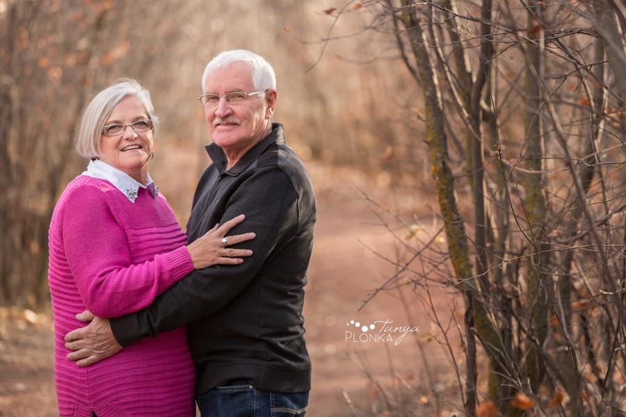 older couples Lethbridge outdoor portraits