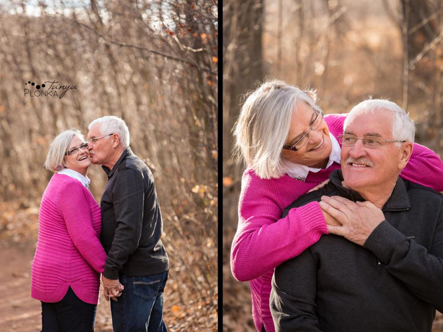 older couples Lethbridge autumn portraits
