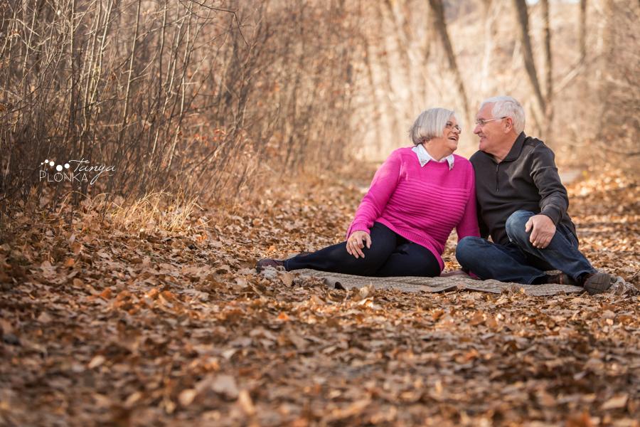 Pavan Park autumn couples portraits