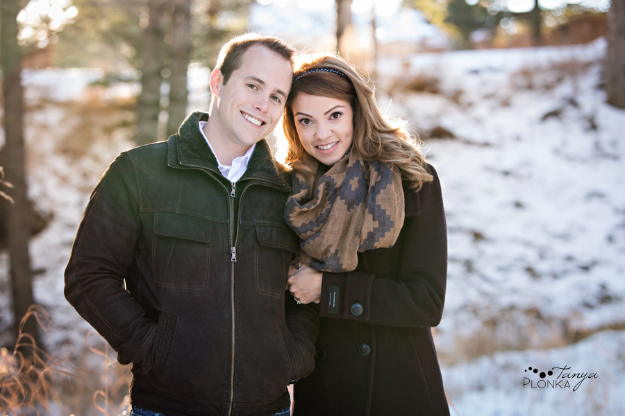 Coleman winter engagement photos