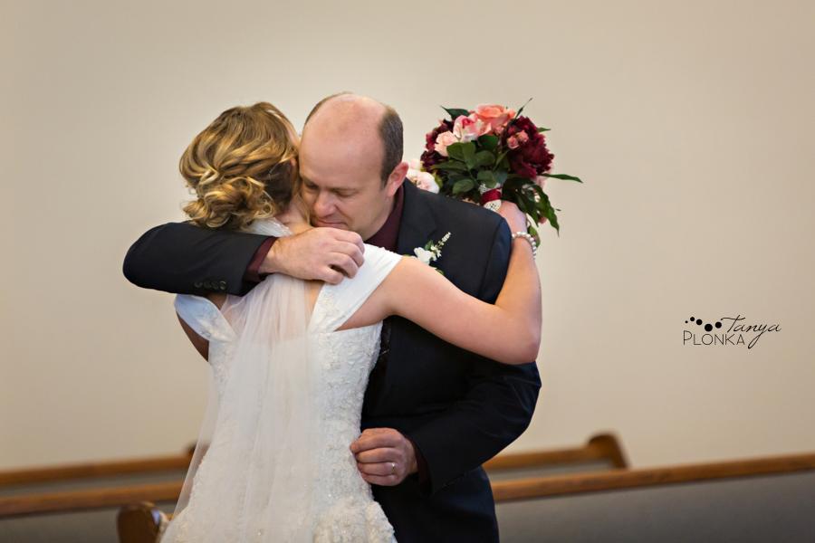 Annelies & Kyle, Coaldale winter wedding