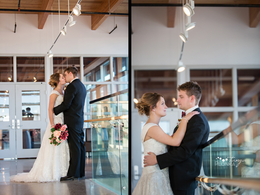 Annelies & Kyle, Lethbridge winter wedding photos