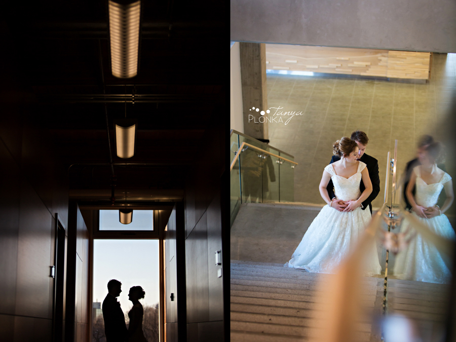 Annelies & Kyle, Lethbridge CASA indoor winter wedding photos