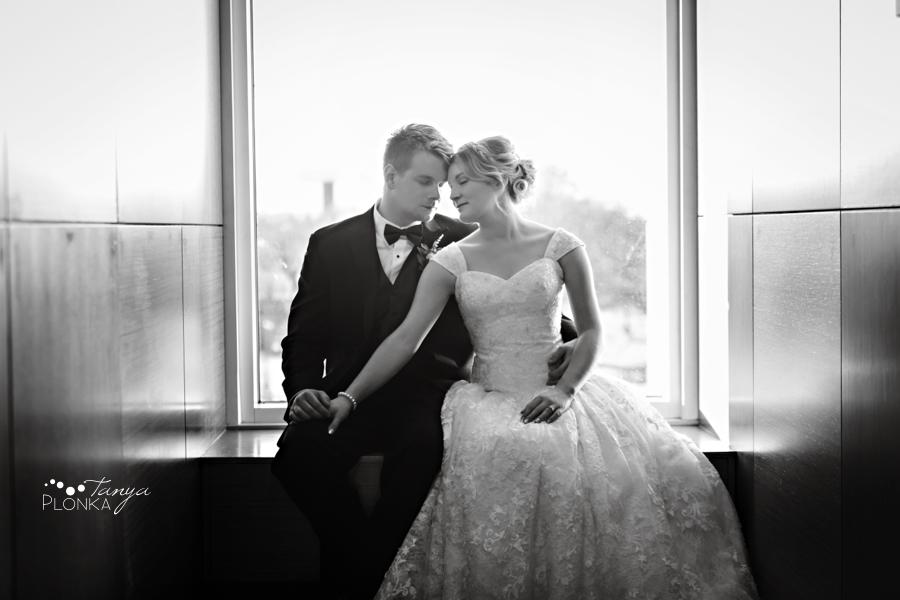 Annelies & Kyle, Lethbridge indoor winter wedding photos