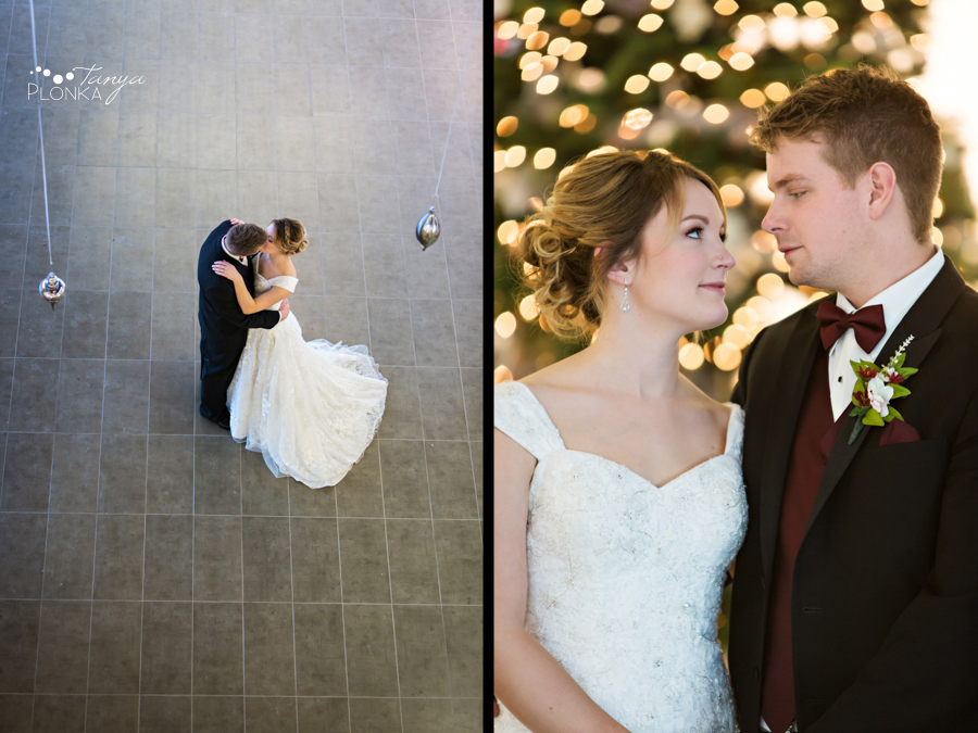 Annelies & Kyle, Coaldale winter wedding