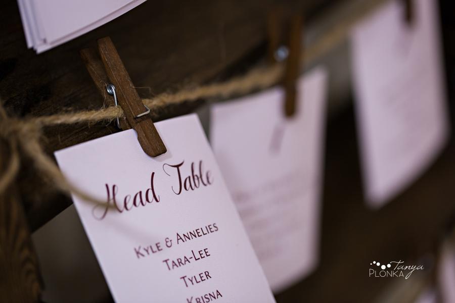 Annelies & Kyle, Coaldale indoor winter wedding