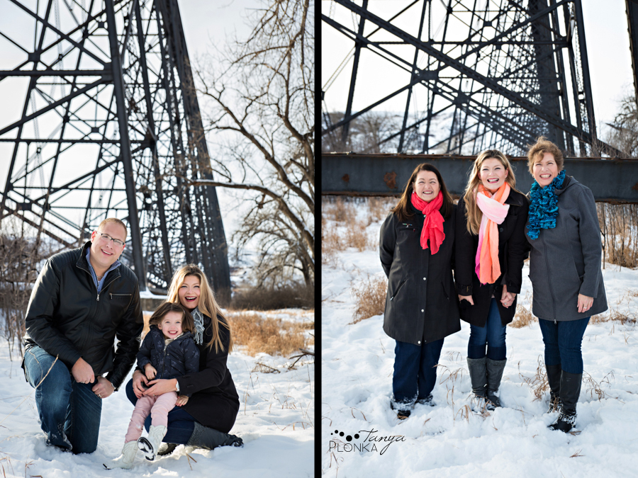 Lethbridge High Level Bridge family photos