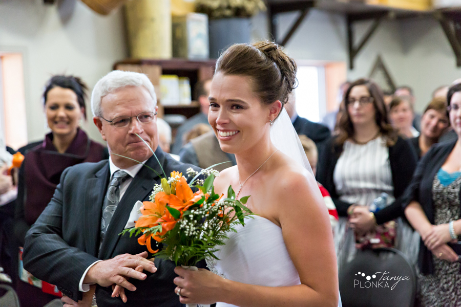 Lanna & Mike, Pincher Creek Bloomin' Inn snowy winter wedding