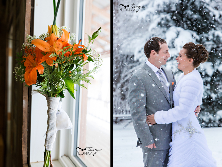 Lanna & Mike, Pincher Creek Bloomin' Inn wedding