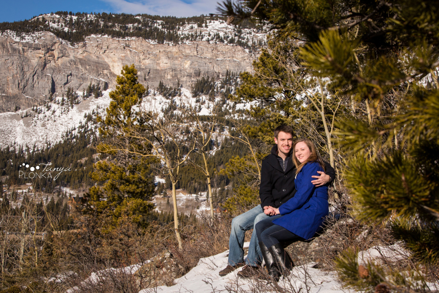 Frank Slide winter couples photos