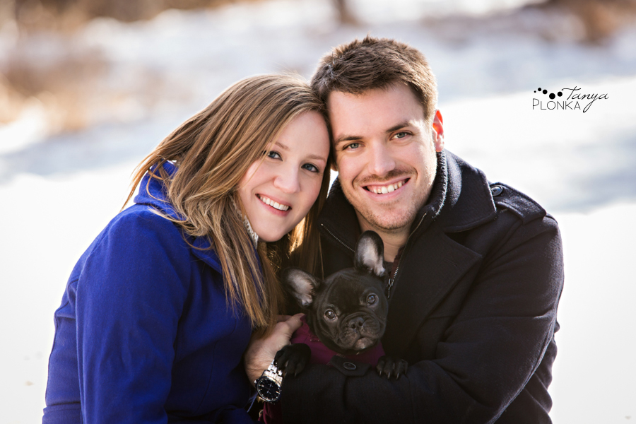 Coleman winter engagement photography