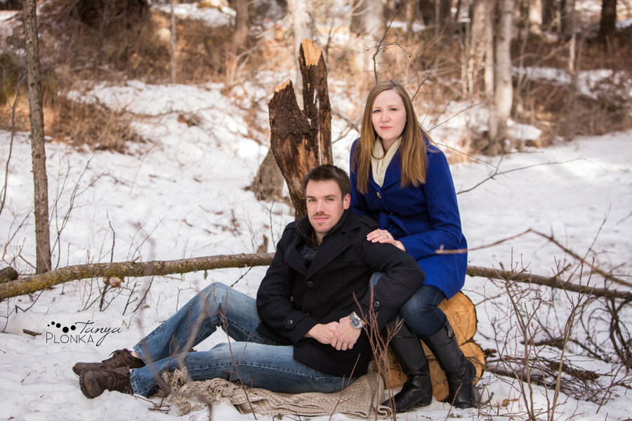 Coleman winter couples photography