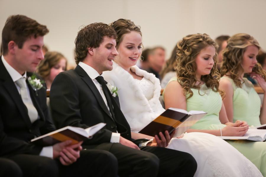 Chaisson & Krystal, Coaldale and Lethbridge warm winter wedding