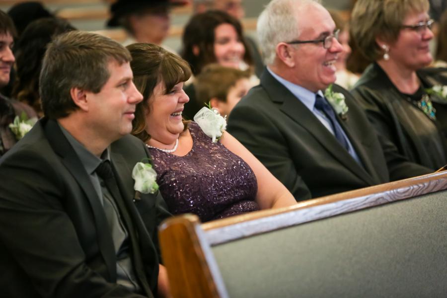 Chaisson & Krystal, Coaldale warm winter wedding