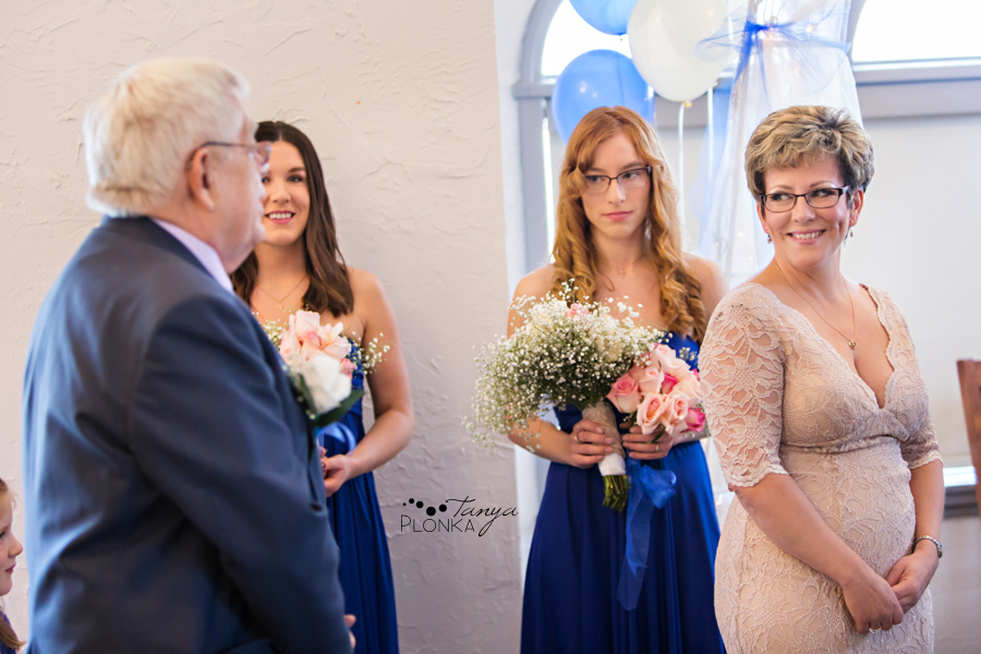 Rob & Kathy, Paradise Canyon indoor winter wedding