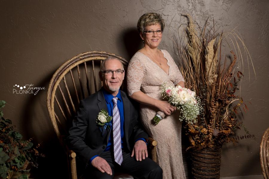 Rob & Kathy, Paradise Canyon indoor winter wedding