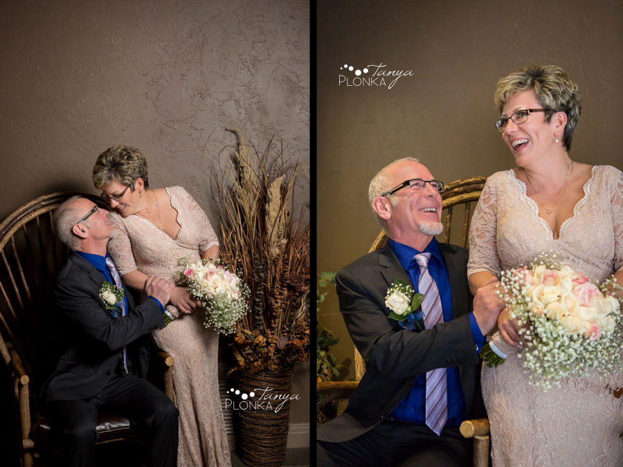Rob & Kathy, Lethbridge indoor winter wedding photography