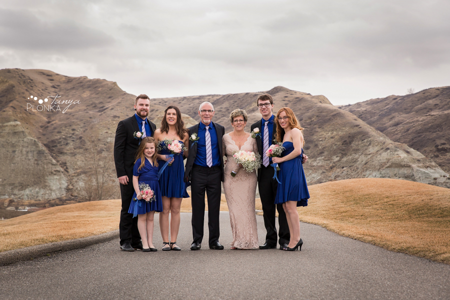 Rob & Kathy, Paradise Canyon winter wedding
