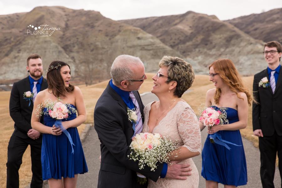 Rob & Kathy, Paradise Canyon winter wedding