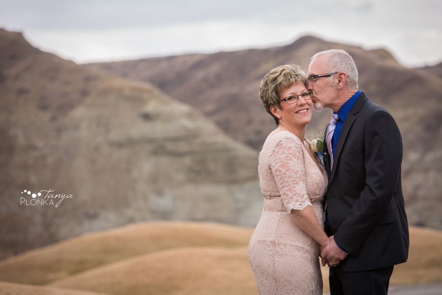 Rob & Kathy, Lethbridge winter wedding photography