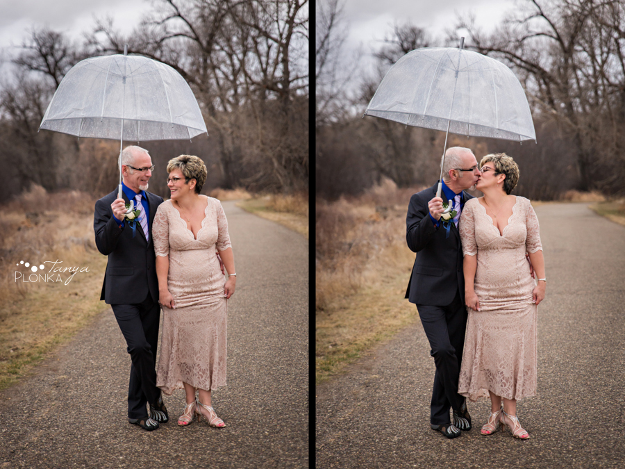 Rob & Kathy, Indian Battle Park winter wedding photography