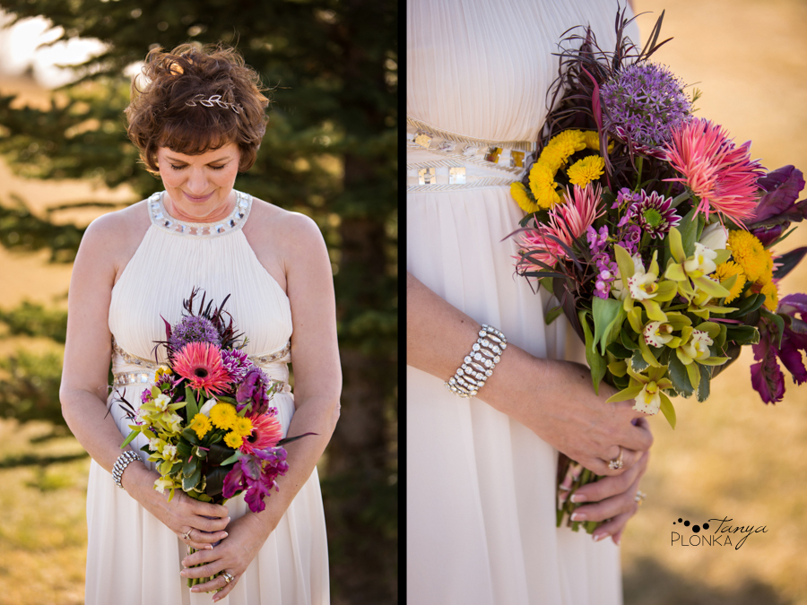 Gail & Stephen, Lethbridge private home spring wedding photos