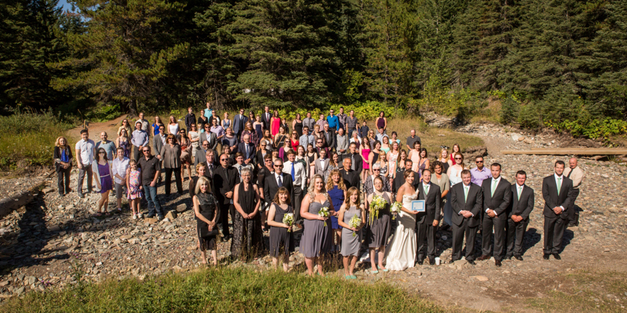 Jori and Shawn Alberta wedding album
