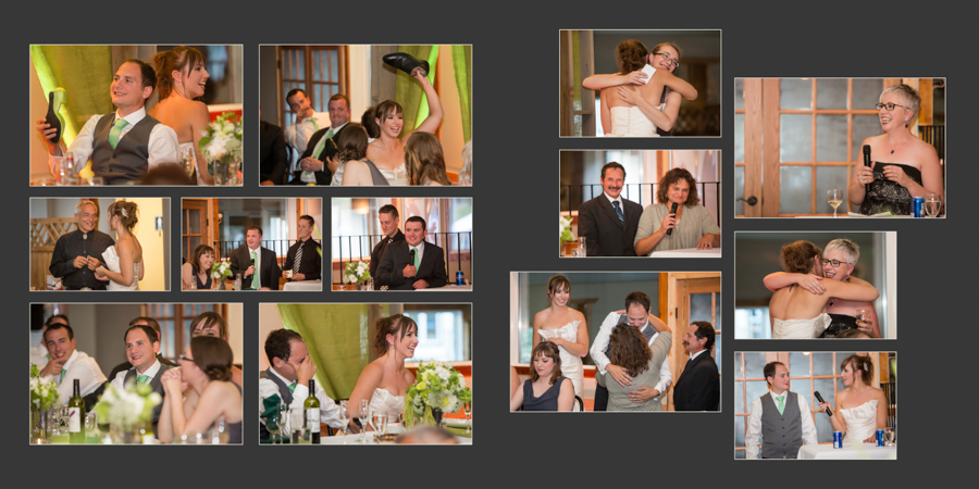 Jori and Shawn Alberta wedding album