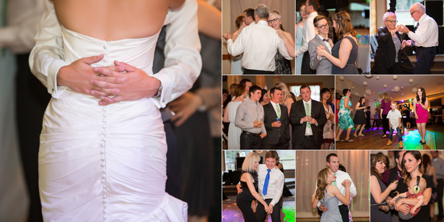 Jori and Shawn Mountain wedding album