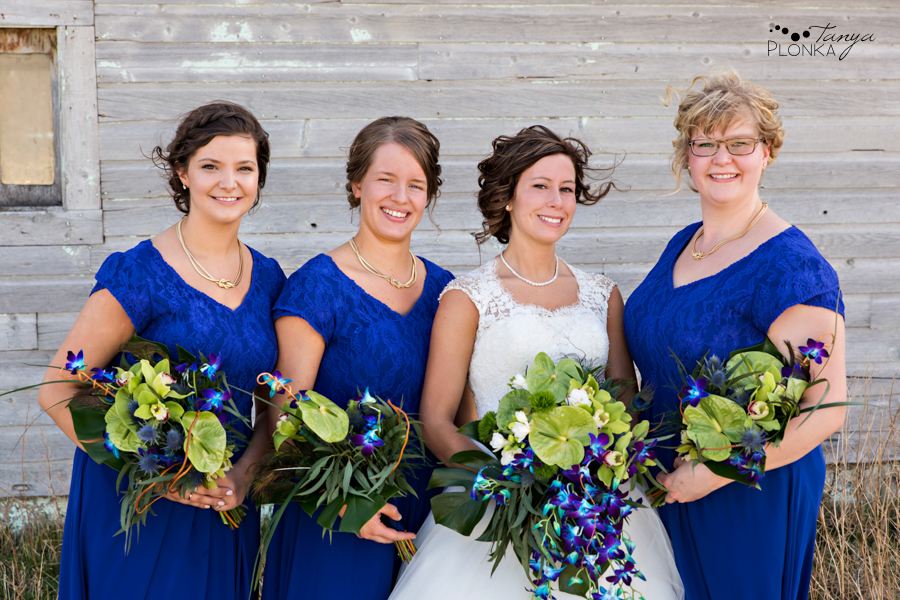 Jamie and Sylvia, Picture Butte spring wedding photography