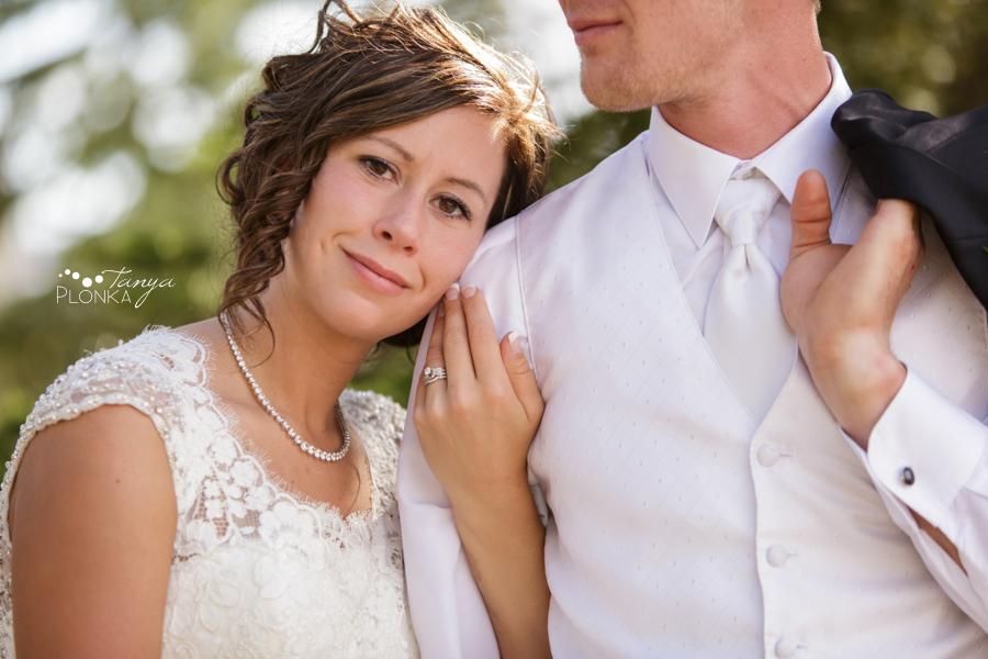 Jamie and Sylvia, Lethbridge spring blossom wedding photography