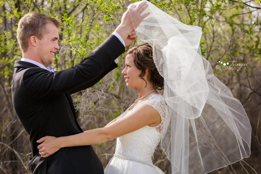 Jamie and Sylvia, Lethbridge spring wedding photos