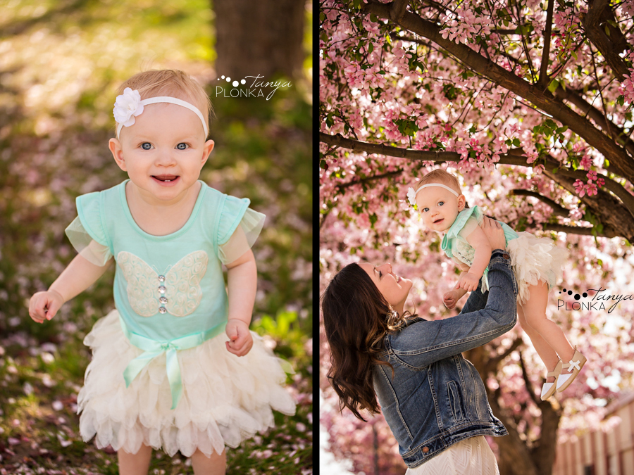 Lethbridge mommy and me spring blossom session