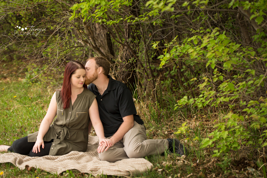 Lethbridge spring couple photography