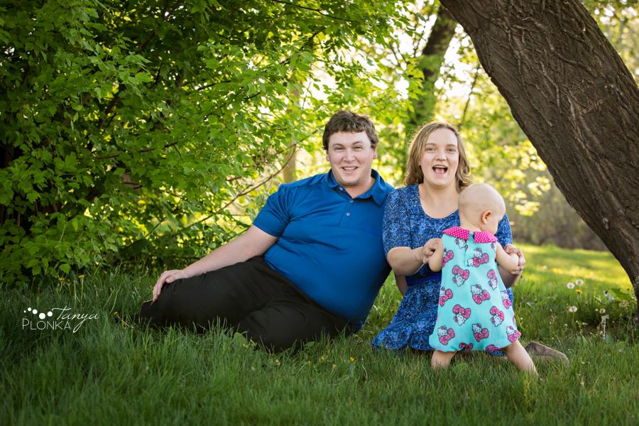 Nicholas Sheran Spring family photos