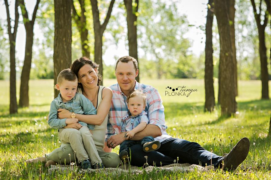 Lethbridge spring morning family photos