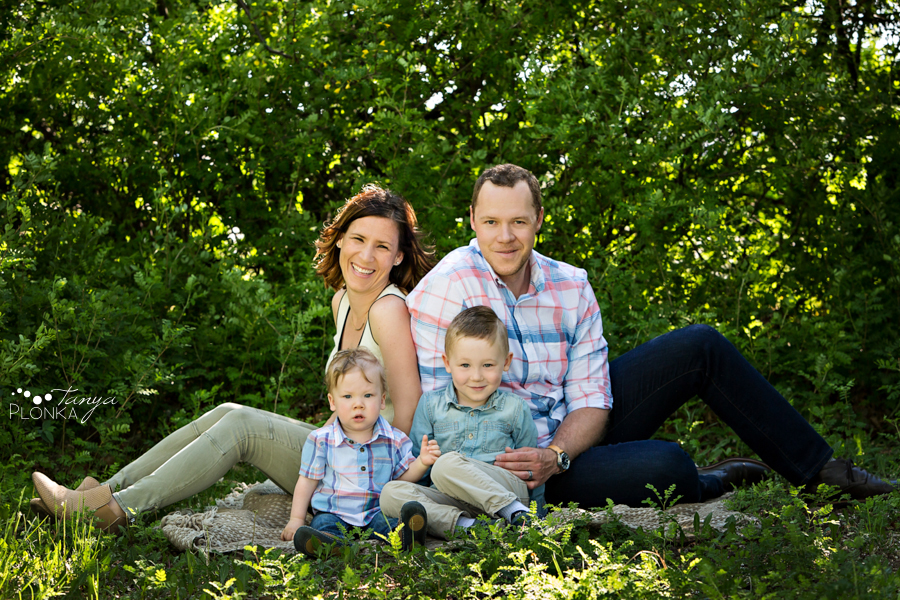 Lethbridge spring morning family photos