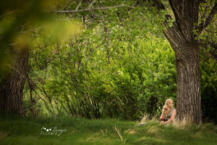 Indian Battle Park outdoor grad photos