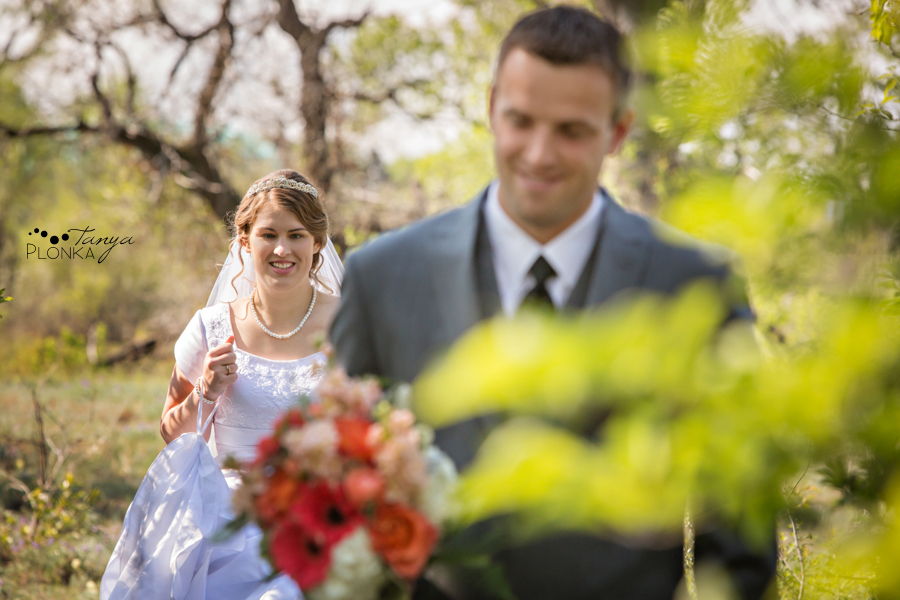 Henry and Kari, Fort Macleod spring wedding
