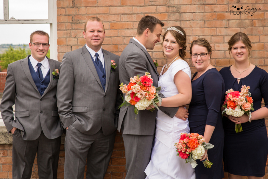 Henry and Kari, Galt Museum outdoor wedding photography