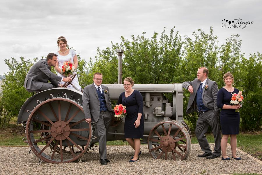 Henry and Kari, Galt Museum spring wedding photos