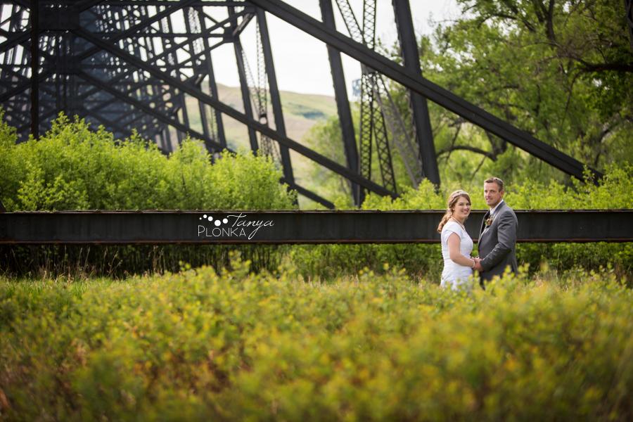 Henry and Kari, Lethbridge high level bridge wedding pictures