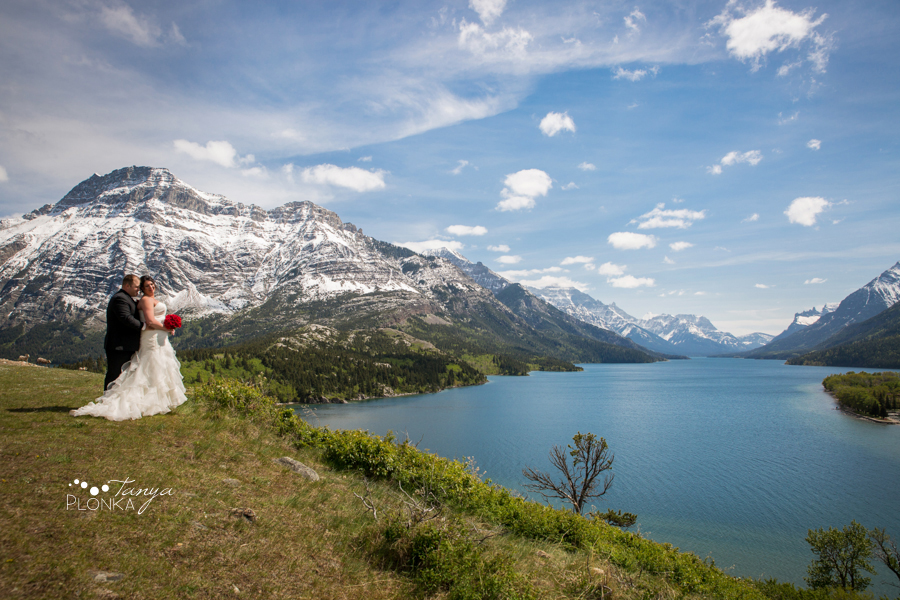 Jessica & Jared, Waterton United Church wedding
