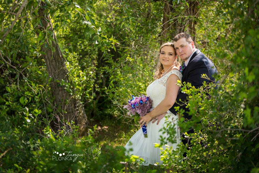 Andrea and Tylor, Pavan Park Lethbridge spring wedding